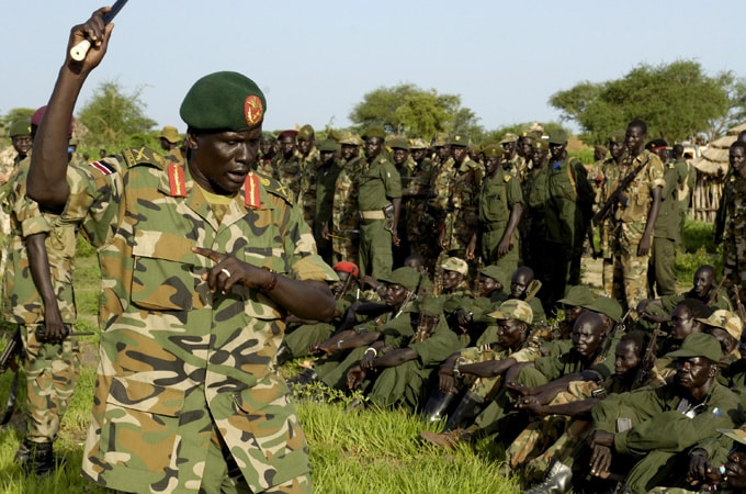 Army Chief Of Staff Sacked Over 'Insecurity'