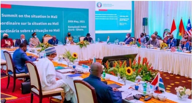 ECOWAS Suspends Mali After Second Coup