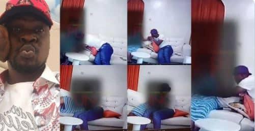 Watch Full CCTV Footage Of Baba Ijesha Molesting 14-Year-Old Girl (Video)