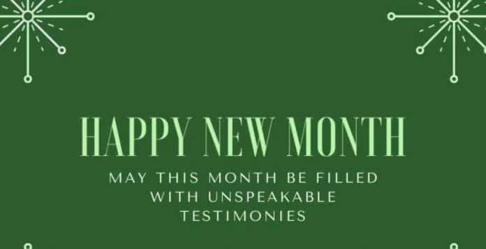 300 Happy New Month Messages For Brother, Sister, Dad, Mum, Lovers