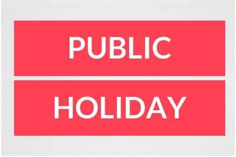 FG Declares Monday Public Holiday