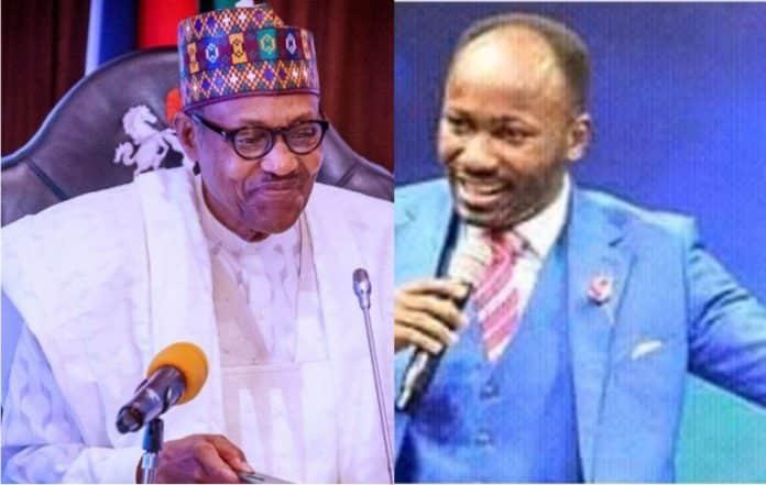 Biafra: Apostle Suleman Warns Buhari, Says God Will Fight For IPOB