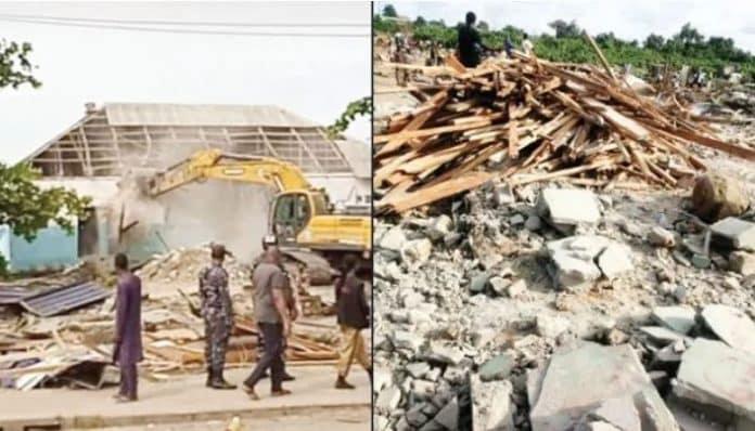 FG Demolishes Lagos Churches, Mosques (Full List)