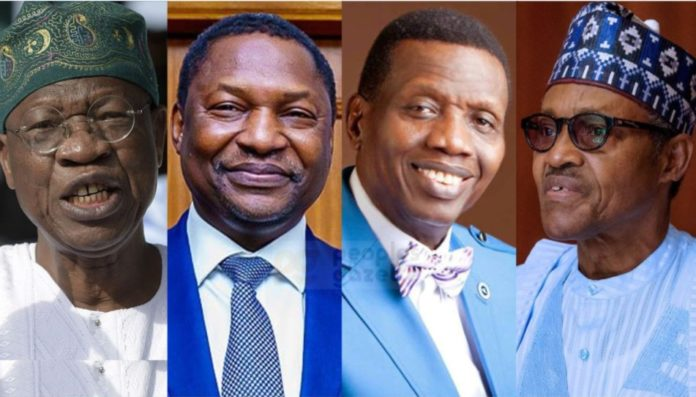 FG To Arraign Pastor Adeboye, Kumuyi, Oyedepo, Others For Using Twitter