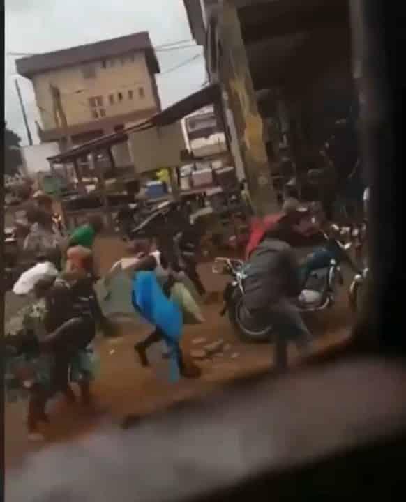 Heavy Shooting Rocks Owerri, Residents On The Run (Photos, Videos)