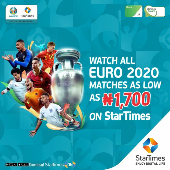 EURO 2020: StarTimes Slashes Decoder Price
