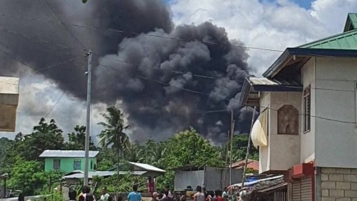 BREAKING: 17 Dead As Military Plane Crashes (Video)