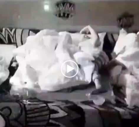 BBNaija JMK Caught On Camera Flashing Boobs [Video]