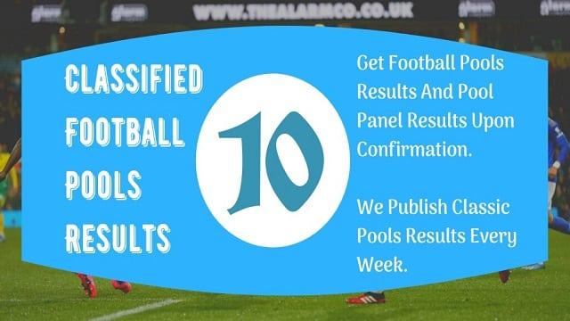 Week 10 Pool Result 2021 For Sat 11 September 2021 – Pool Agent